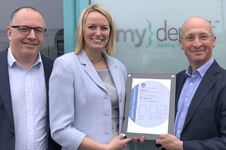 Environmental achievements recognised with ISO 14001