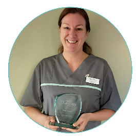 Meet Amanda Evans…Hygienist of the Year!